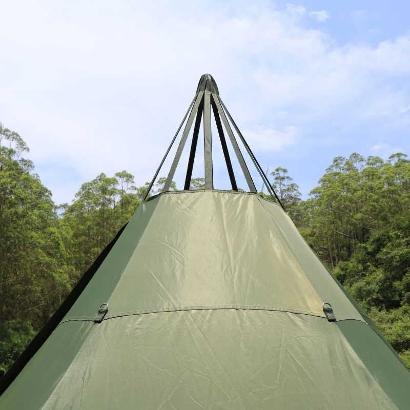 Mercury Hot Tent Teepee Tent Outdoor Camping - Wise Tents®