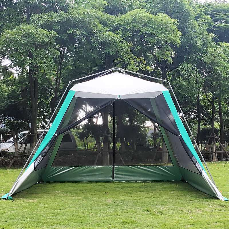 Wise Tents® Camping Mesh Tent With Sunshade Canopy- 4-6 Persons 3