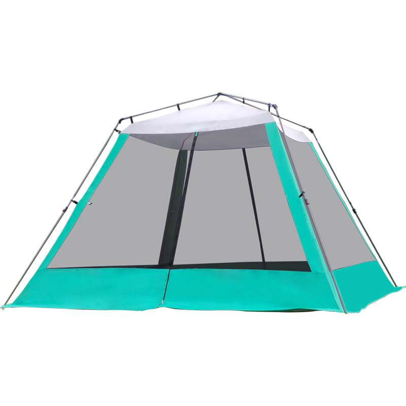Wise Tents® Camping Mesh Tent With Sunshade Canopy- 4-6 Persons 1