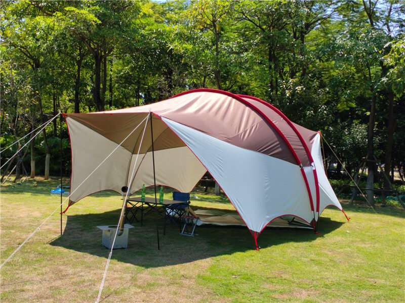 Features and Benefits of the mash tent with sunshade canopy