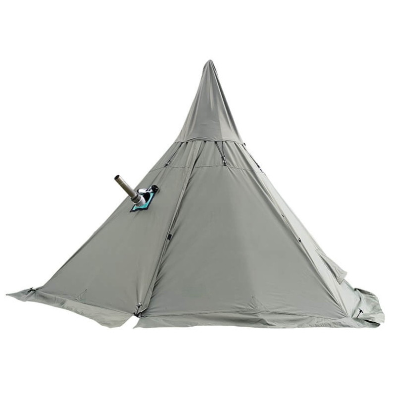 Mercury Yarn Cotton Canvas Tent with Wood Stove Jack - Wise Tents® 2