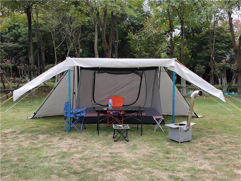 Wise Tents® Twinpeak Awning Hot Shelter Tent - 2 Persons