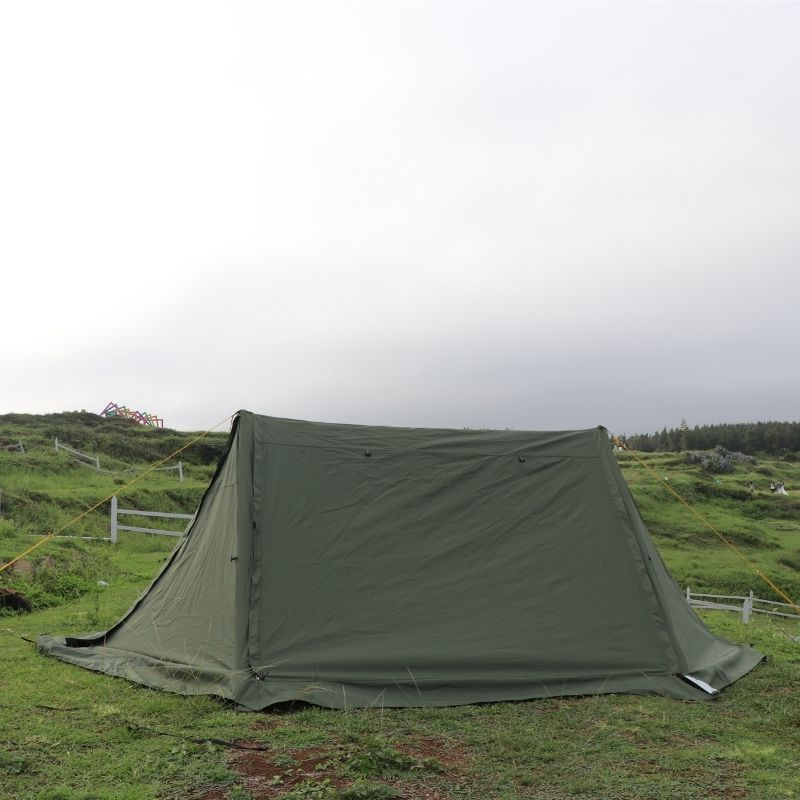 Wise Tents® Twinpeak Awning Hot Shelter Tent - 2 Persons 1