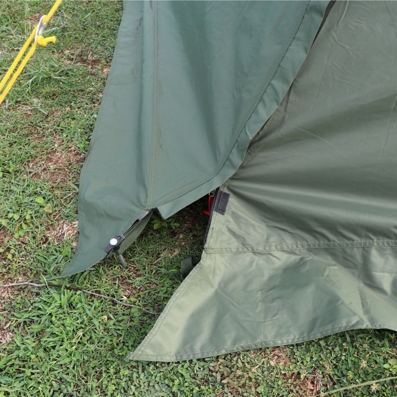 Wise Tents® Twinpeak Awning Hot Shelter Tent - 2 Persons 2