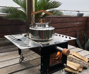 Mars S2 Mini Wood Stove for Hot Tent Camping