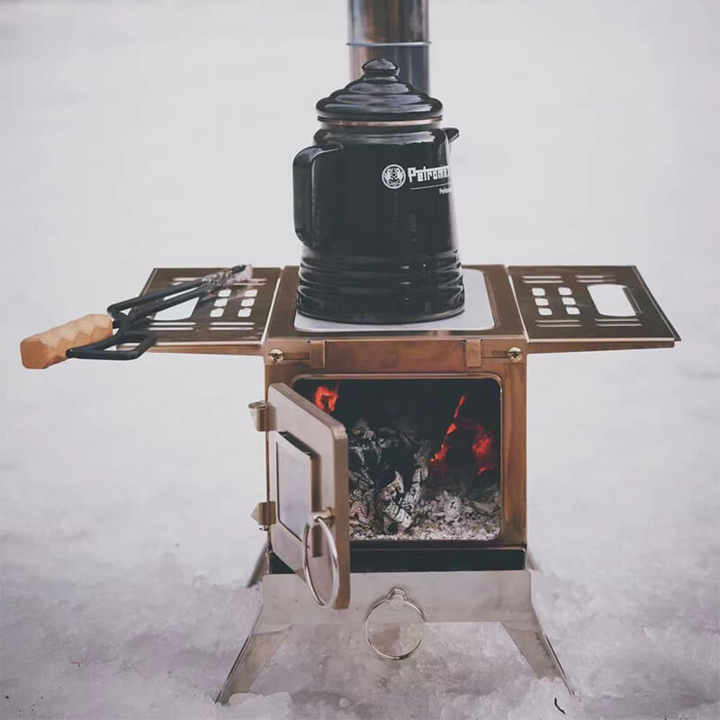 Mars - S1 Multifunctional Wood Stove For Camping And Hunting - Wise Tents® 2