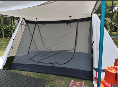 Wise tents twin peak awning hot shelter tent- 2 person