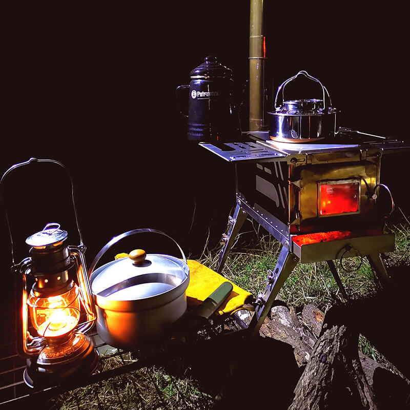 Mars - S1 Multifunctional Wood Stove For Camping And Hunting - Wise Tents® 3