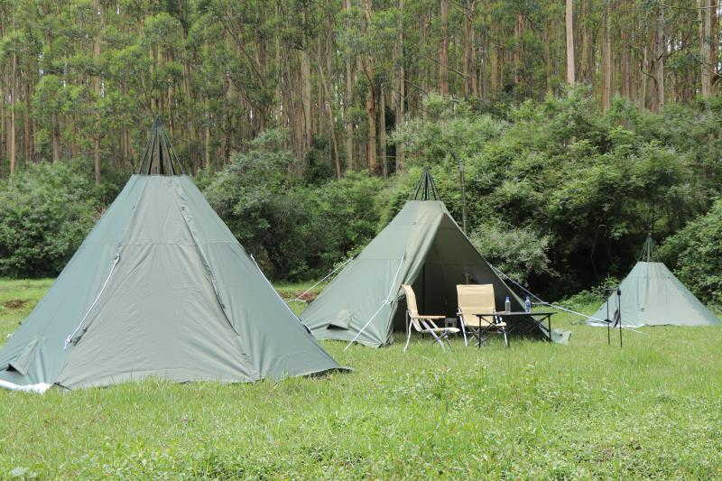 Mercury hot tent for 4 people