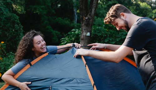 Why choose the camping tents from Wise Tents?